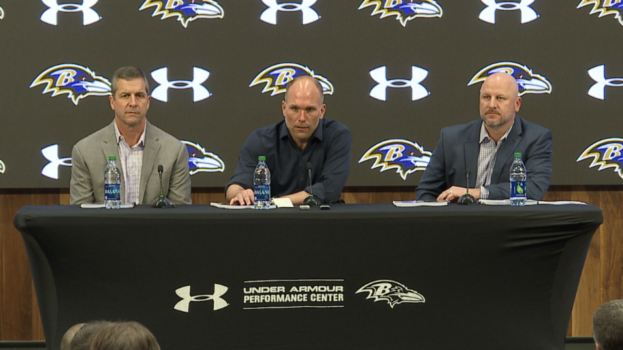 Ravens Pre Draft Press Conference