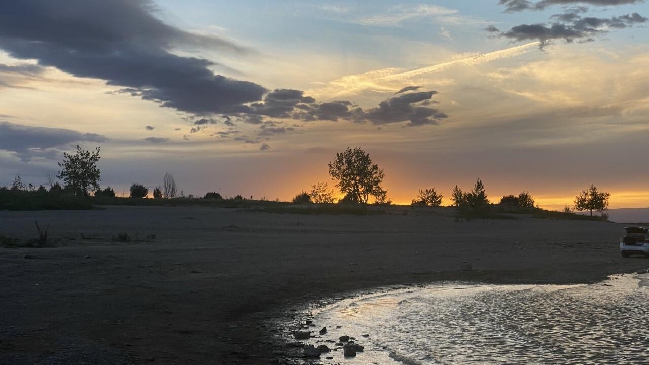 Lake Pueblo sunset