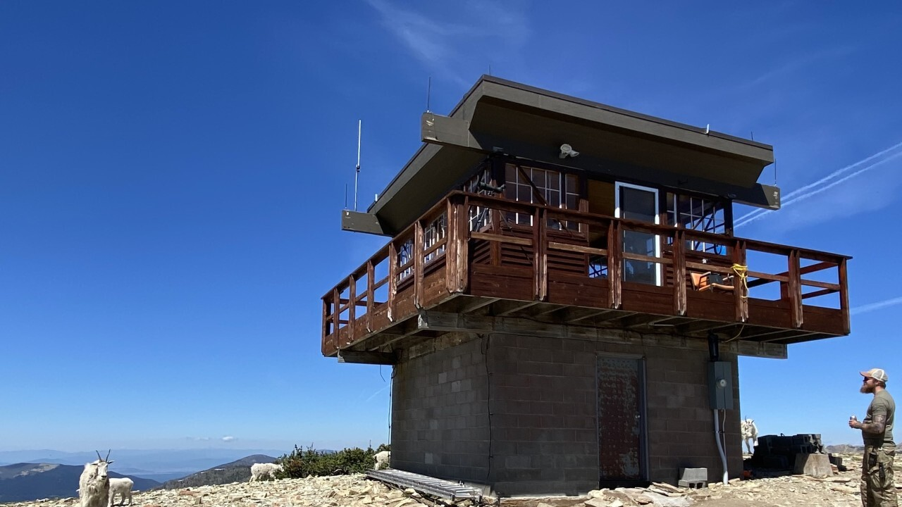 Montana fire lookouts: Alone on a peak watching for wildfires