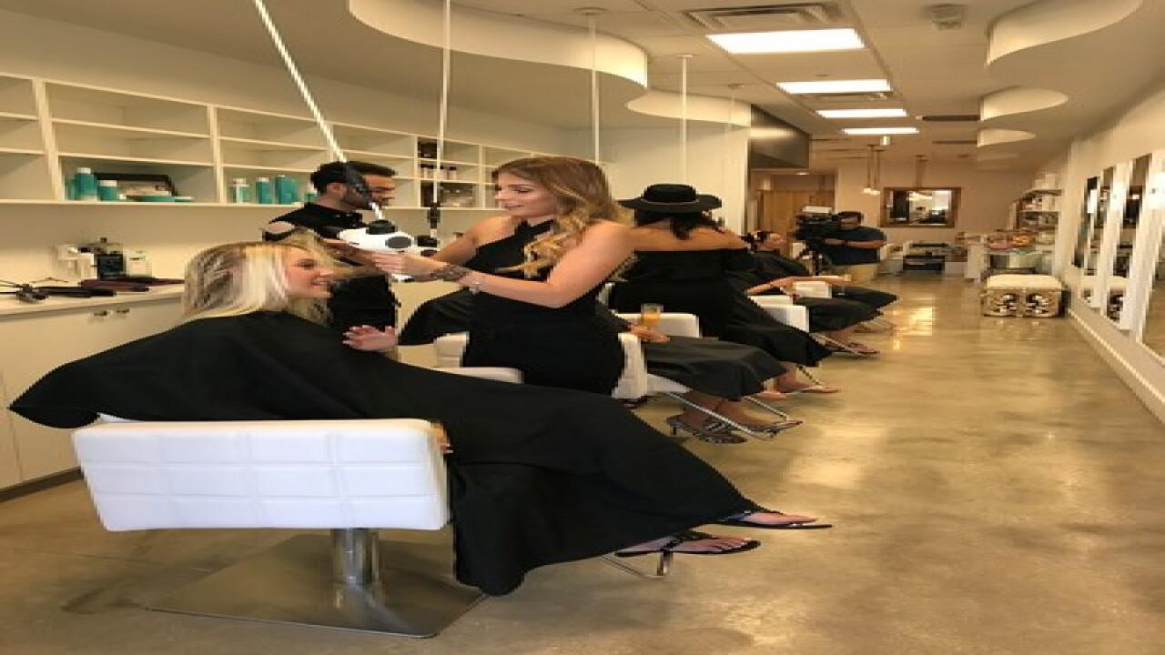 Ladies of Fox 4 hit blowout bar