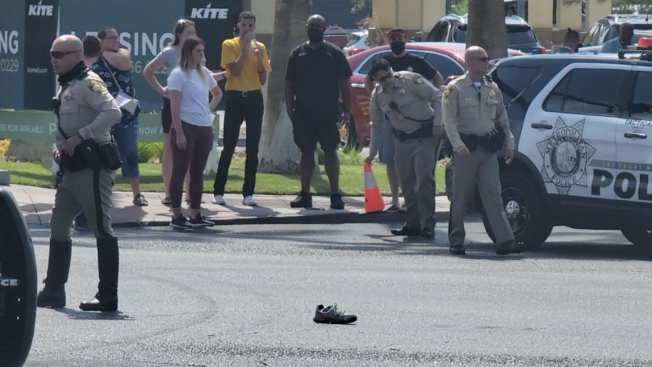 High school student dies after northwest Las Vegas crash