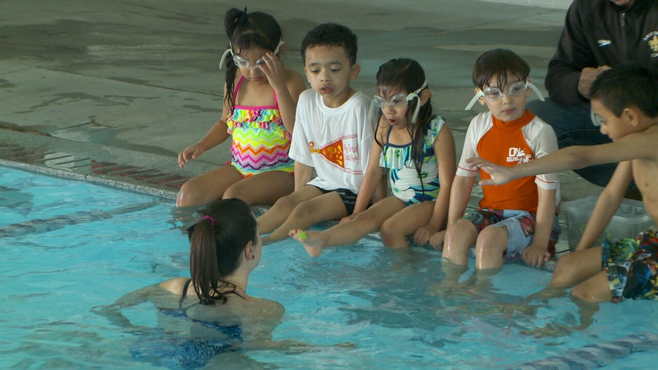 Organizations team up to help kids in need learn to swim