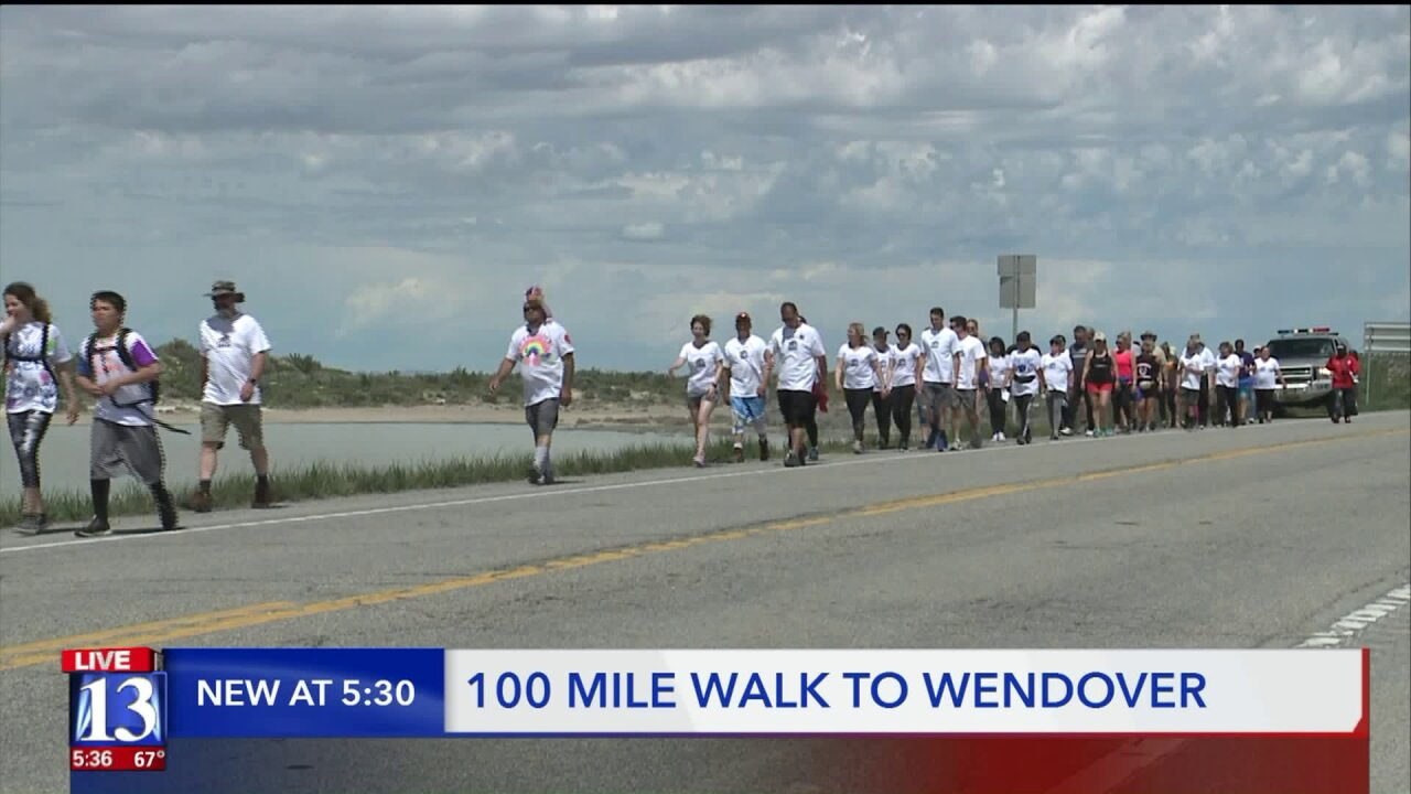 Walk to Wendover raising awareness about suicide