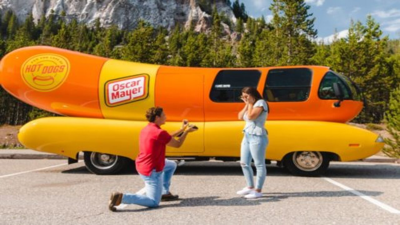 Rent The Oscar Mayer Wienermobile For Free For Your Proposal