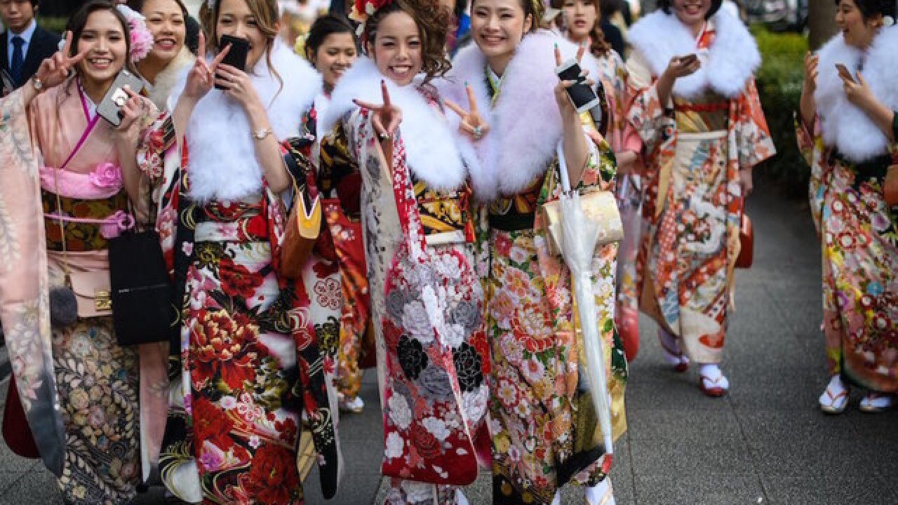 Japan lowers its age of adulthood to 18