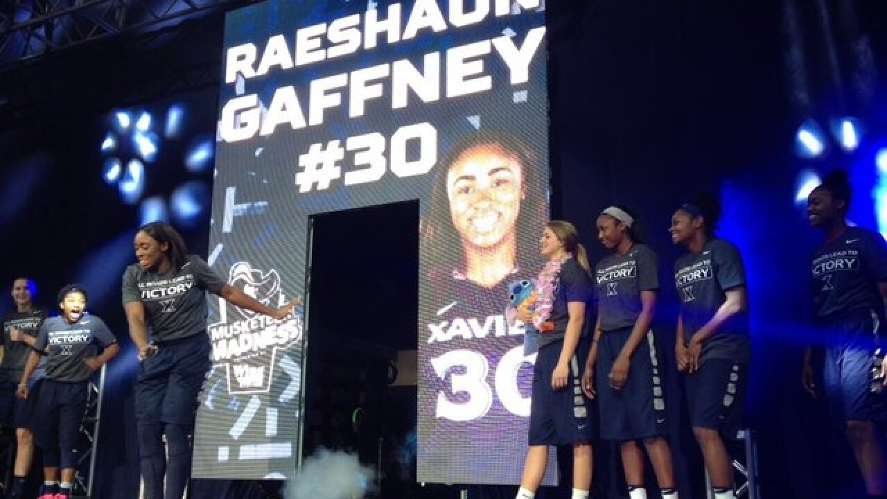 XU's Raeshaun Gaffney wants to go out on top