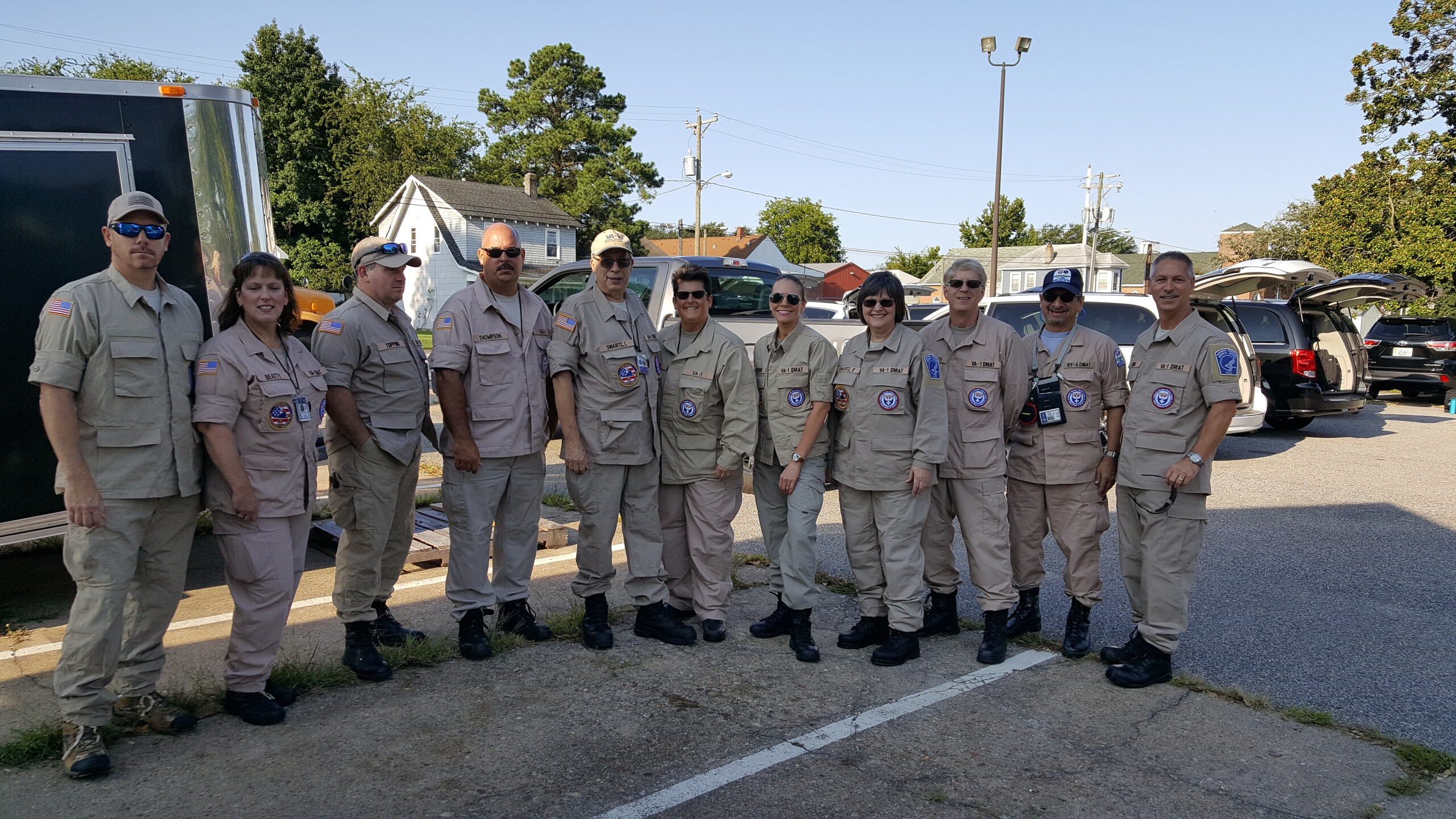 Photos: Virginia Disaster Medical Assistance Team responds to Hurricane Irma reliefefforts