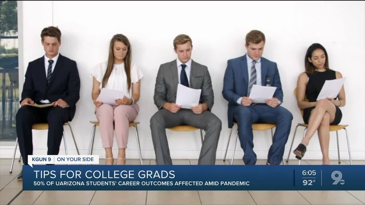 Tips for college grads facing hiring challenges