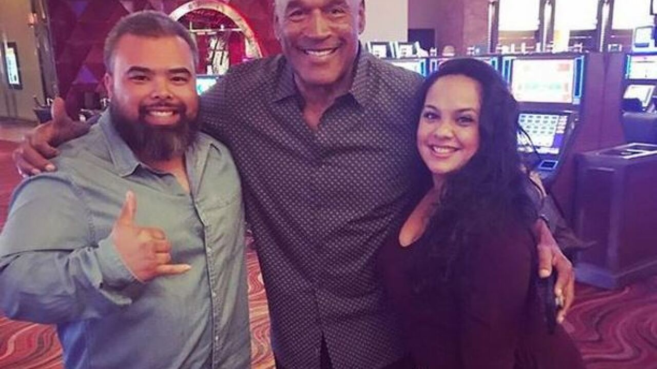 Is O.J. Simpson banned from Station Casinos?