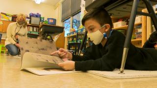 Jefferson Elementary School Book Donation