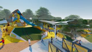 Gilbert Regional Park rendering