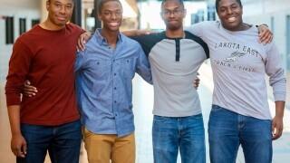 Lakota East quadruplets accepted into Ivy League