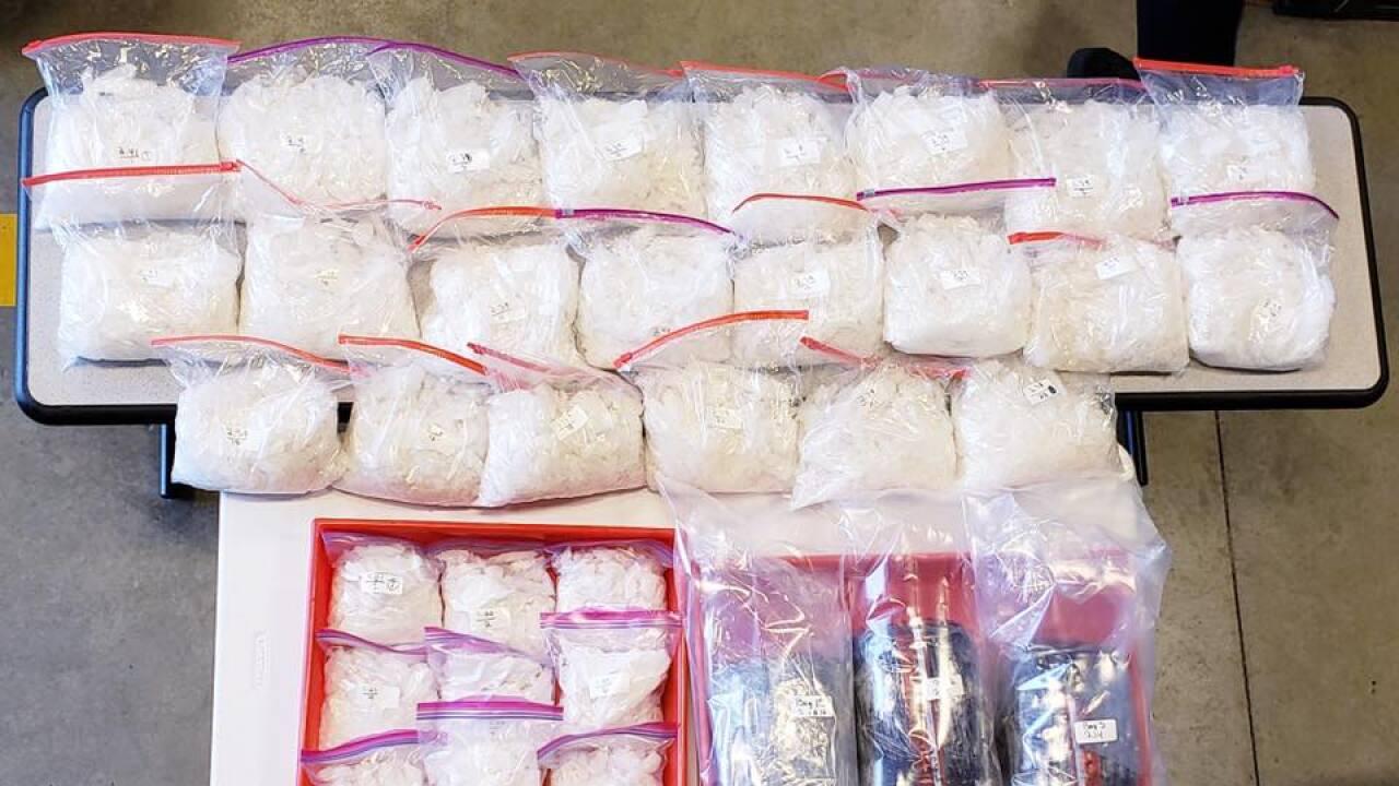 Bonner Springs Police drug bust nets 75 pounds of meth