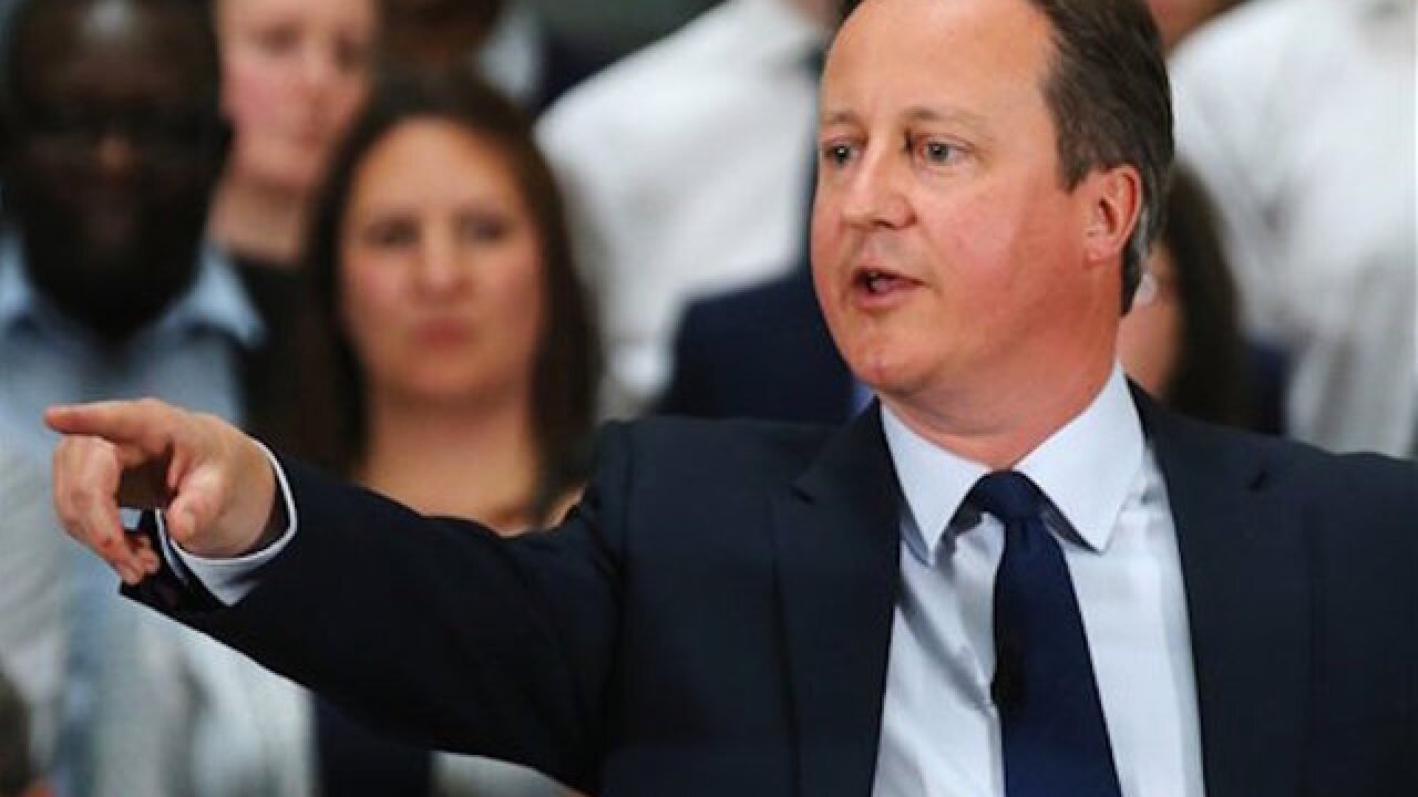 Cameron admits he profited from offshore account