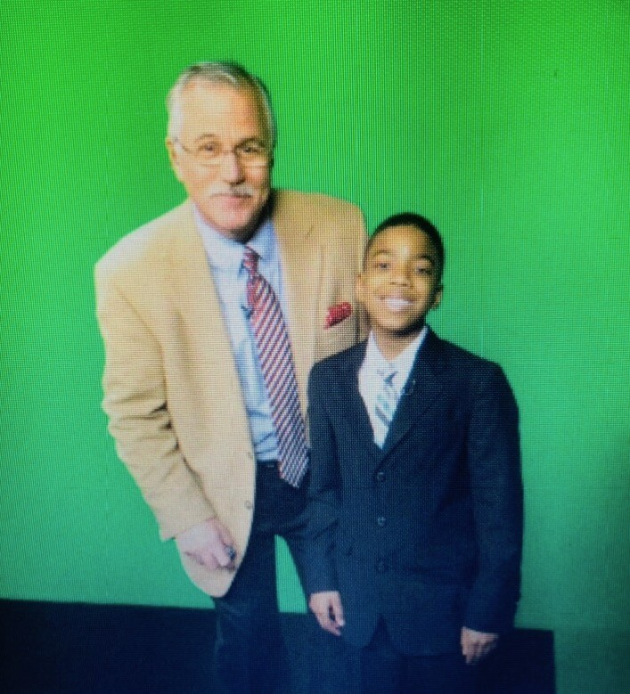 Rahim Dunston spent time on set with Mike Randall as a child