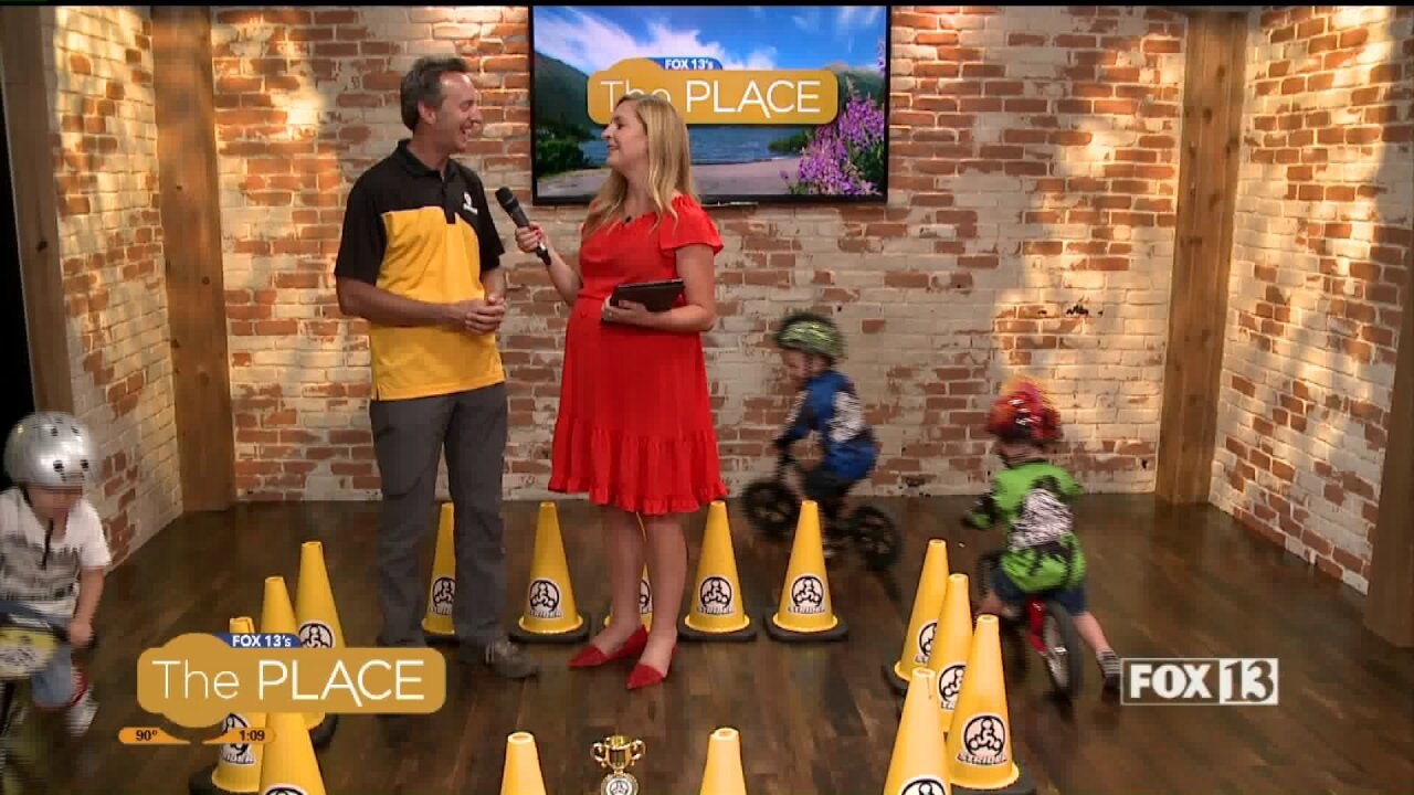 A toddler bike world championship race is happening in Salt Lake City thisweekend