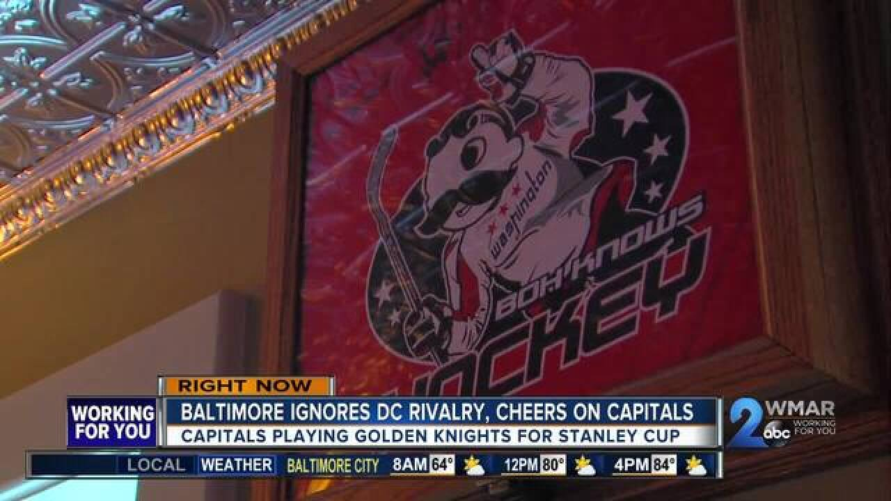 Despite rivalry, Baltimore excited about Caps