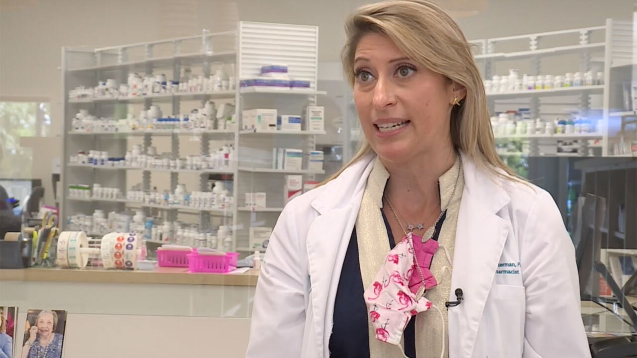 Cristal Totterman of Sewall's Point Pharmacy
