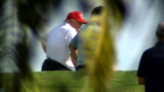 After tossing a grenade that threatens to blow up a massive COVID relief and government funding bill and force a government shutdown in the midst of a pandemic, President Donald Trump was golfing on Christmas for a second straight day.