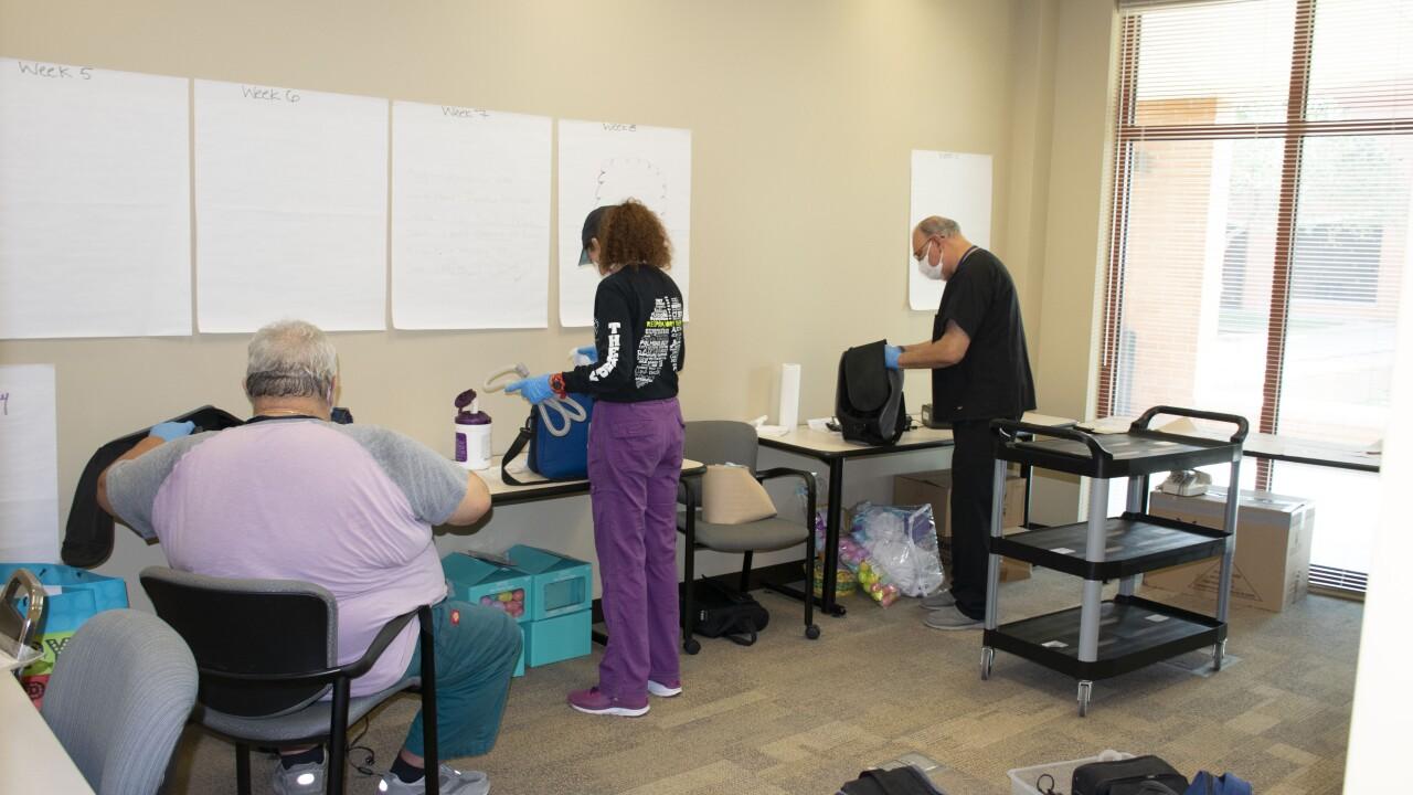 BiPAP CPAP collection produces 160 ventilators