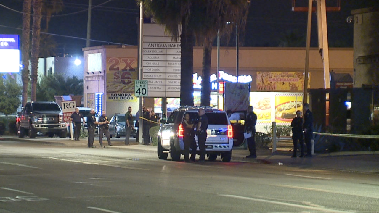 35th Avenue and Camelback Officer-involved shooting