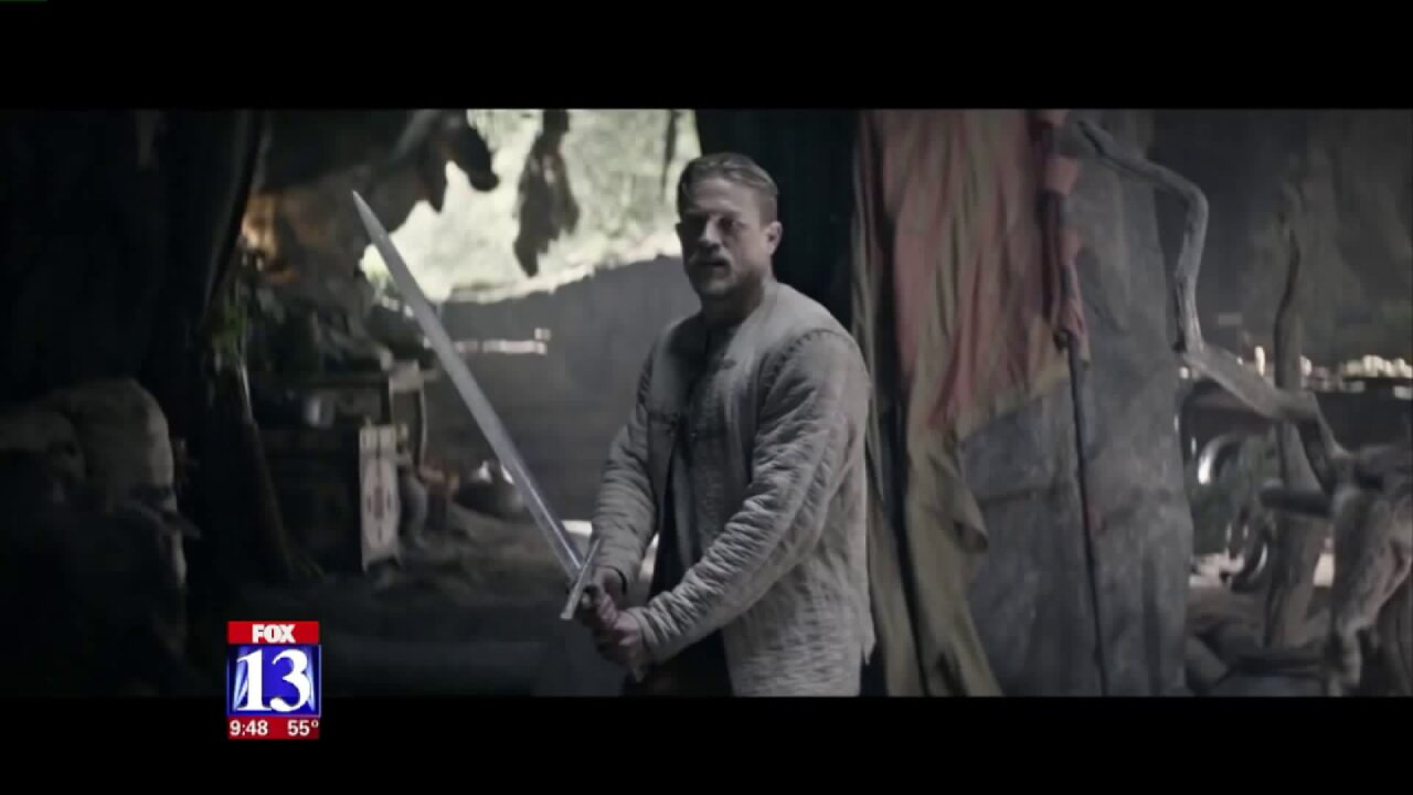 At the Movies: 'King Arthur: Legend of the Sword'