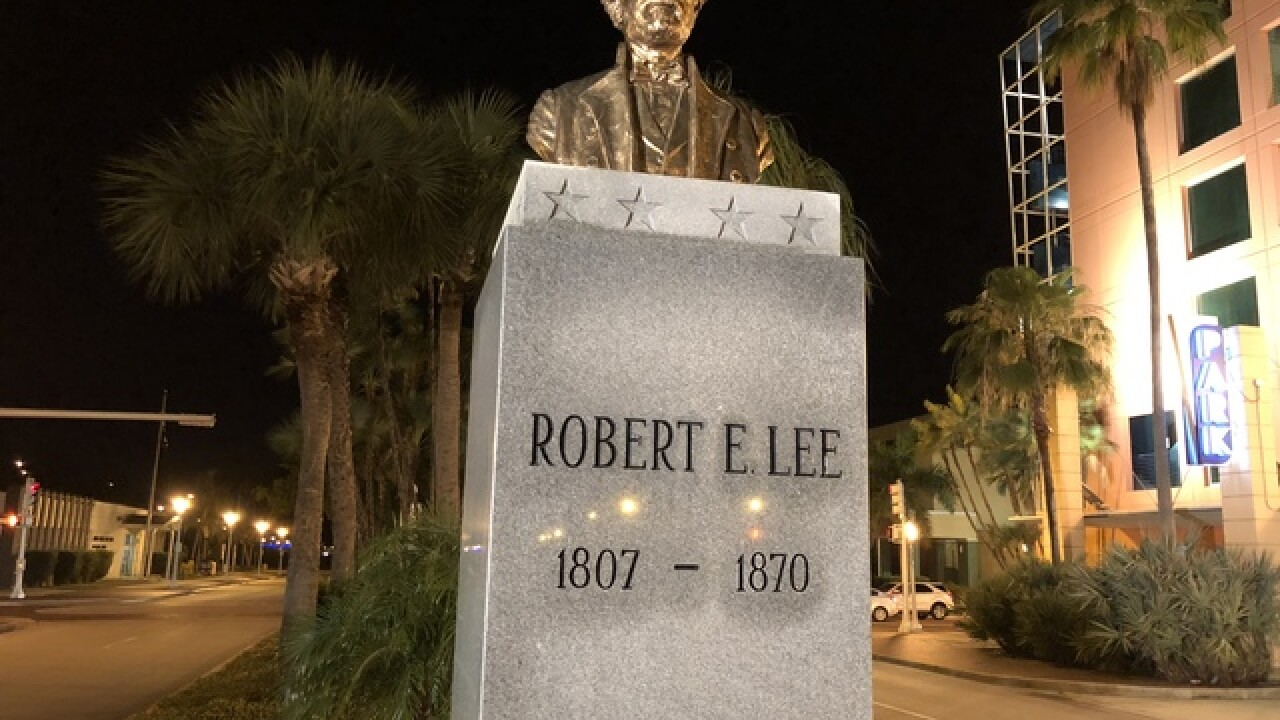City takes no action on Robert E. Lee statue