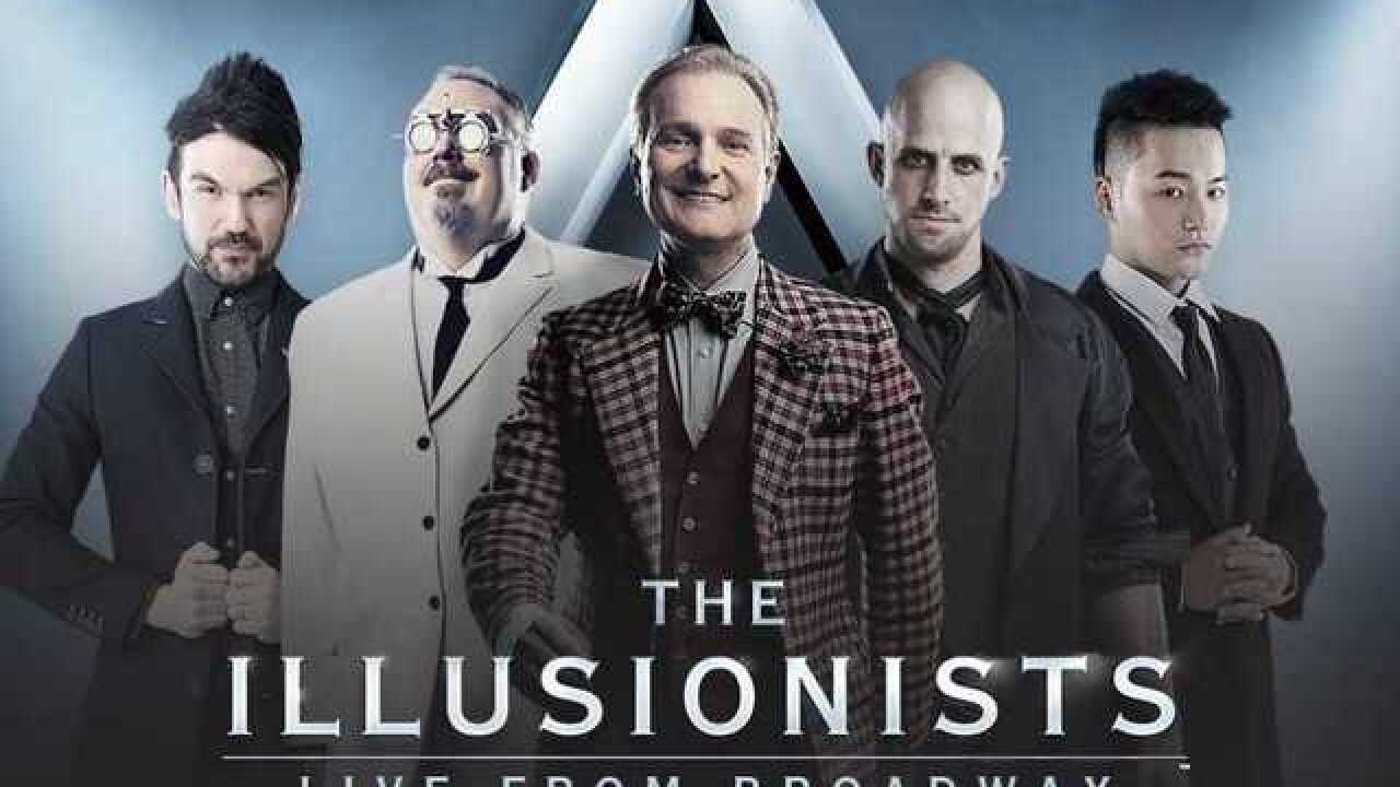 Watch 2 Win: Five winners to receive a pair of tickets to the Illusionists at BOK Center Feb. 1