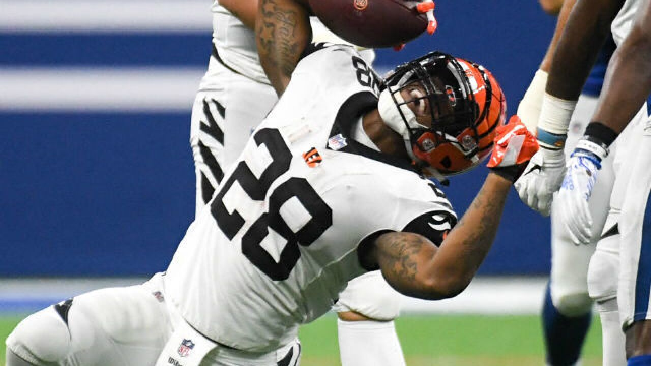 Joe Mixon puts speed, spark in Bengals' offense