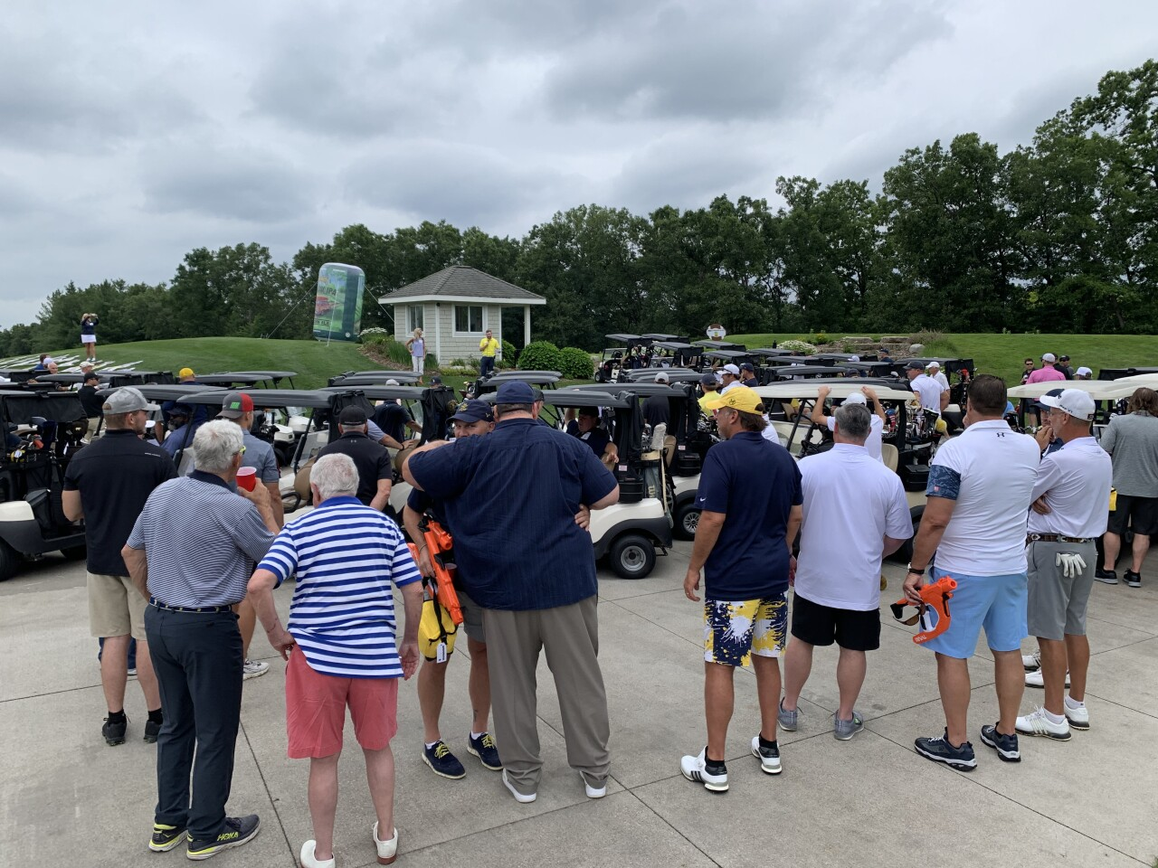 First-ever 'For Those Who Stayed' golf outing