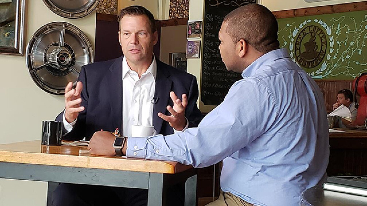 41 Files: Kelly, Kobach, Orman talk politics