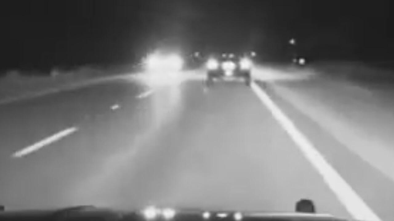Florida wrong way driver caught on camera