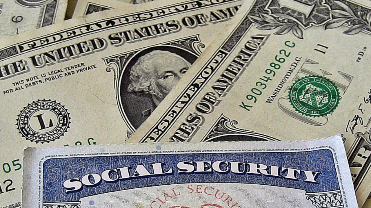 money social security card
