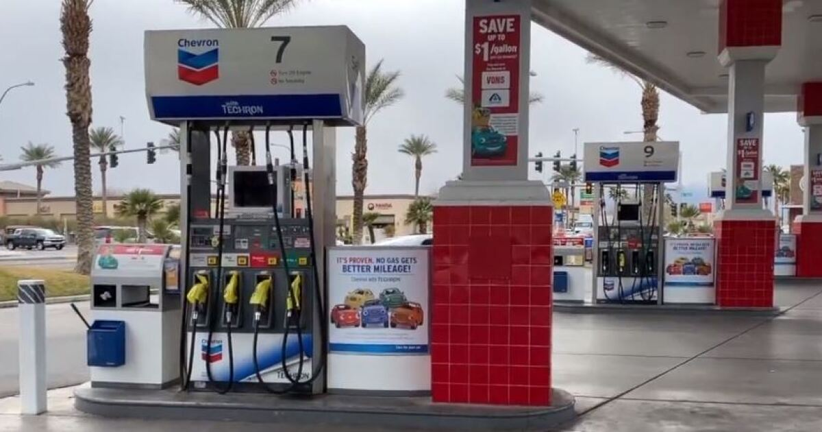 Las Vegas gas station inspected after water discovered in ...