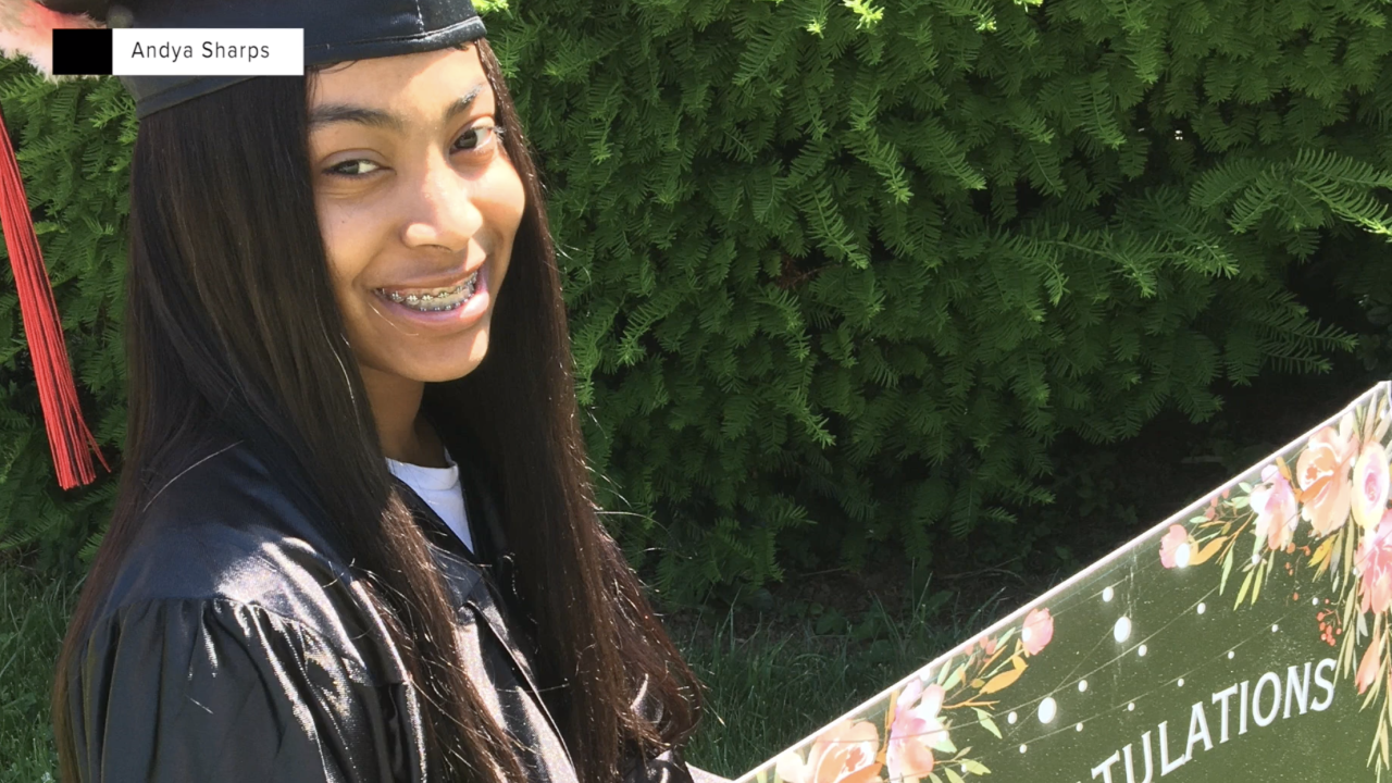 Young mom overcomes tough odds to graduate high school during pandemic
