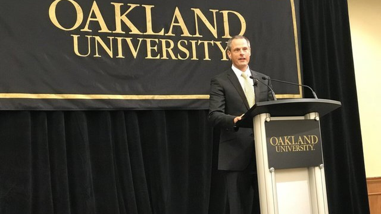 Oakland hires Nebraska's Steve Waterfield as athletic director
