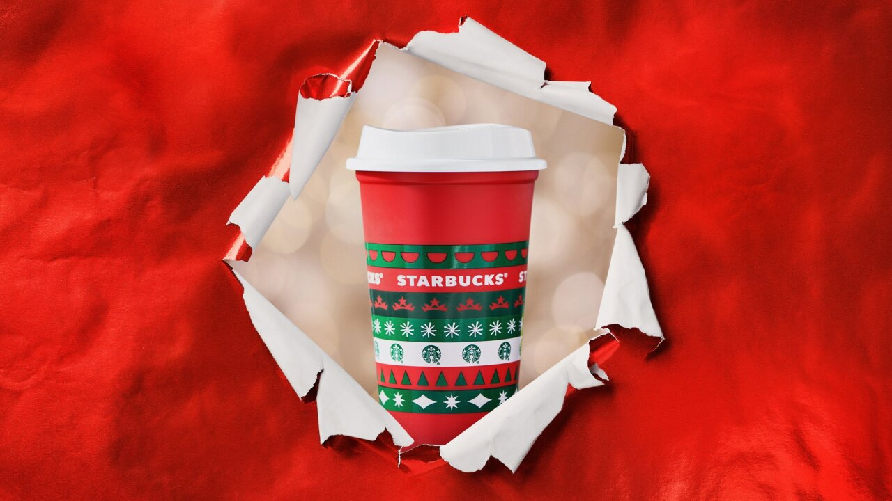 Starbucks announces red holiday cups to be released on Nov. 6