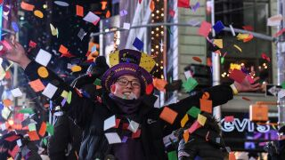 New Year's Eve by the numbers: 175M in the U.S. will watch the ball drop