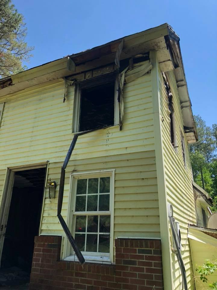 Photos: Firefighters respond to house fire in Accomack County