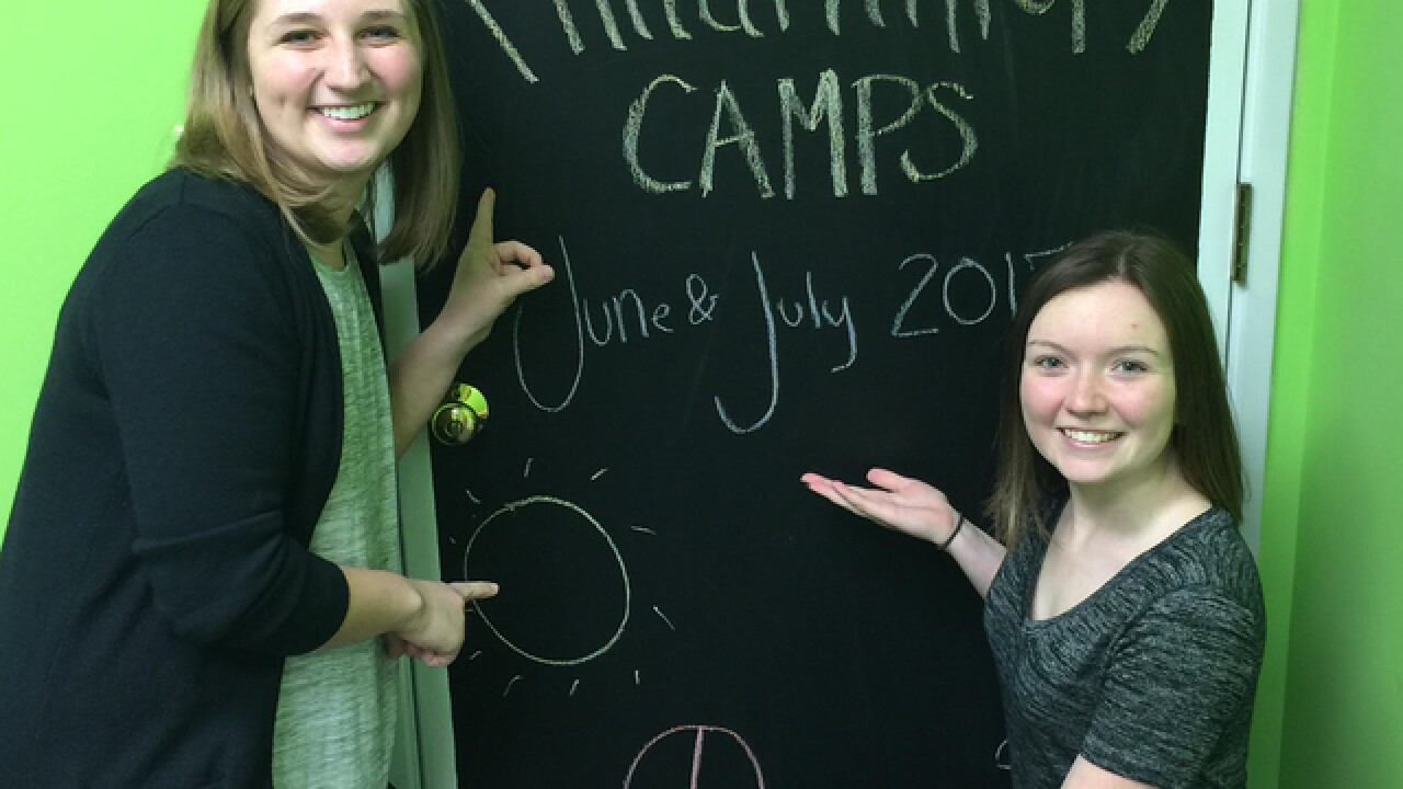 At Camp Give, young students will learn how to raise money to help children living in poverty