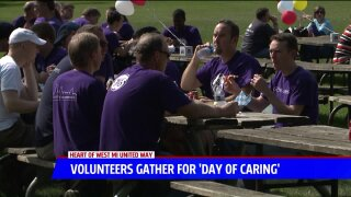 1,400 Day of Caring volunteers help out in Grand Rapids