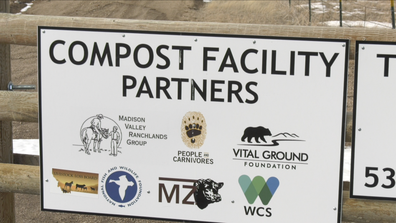 Madison Valley stakeholders hope to reduce human-carnivore conflict with animal compost site