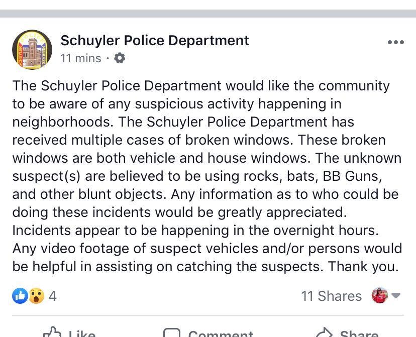 Schuyler PD
