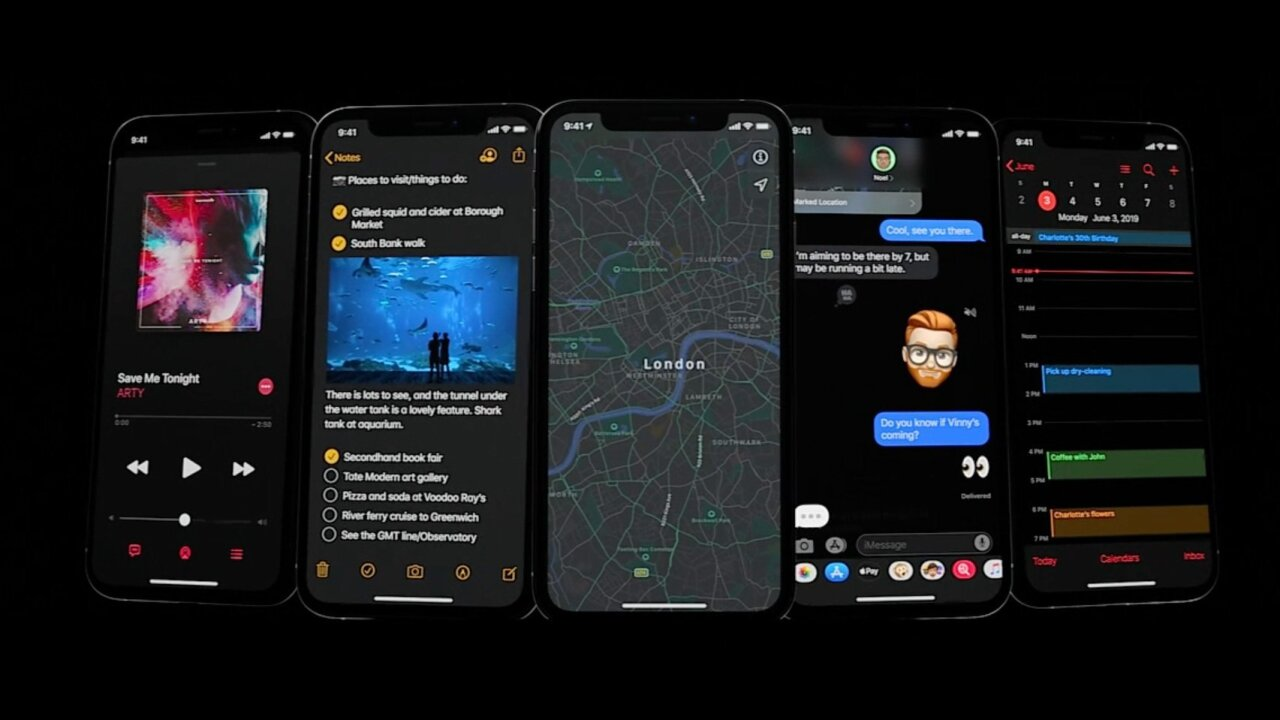 The iPhone's new dark mode: Why you should care