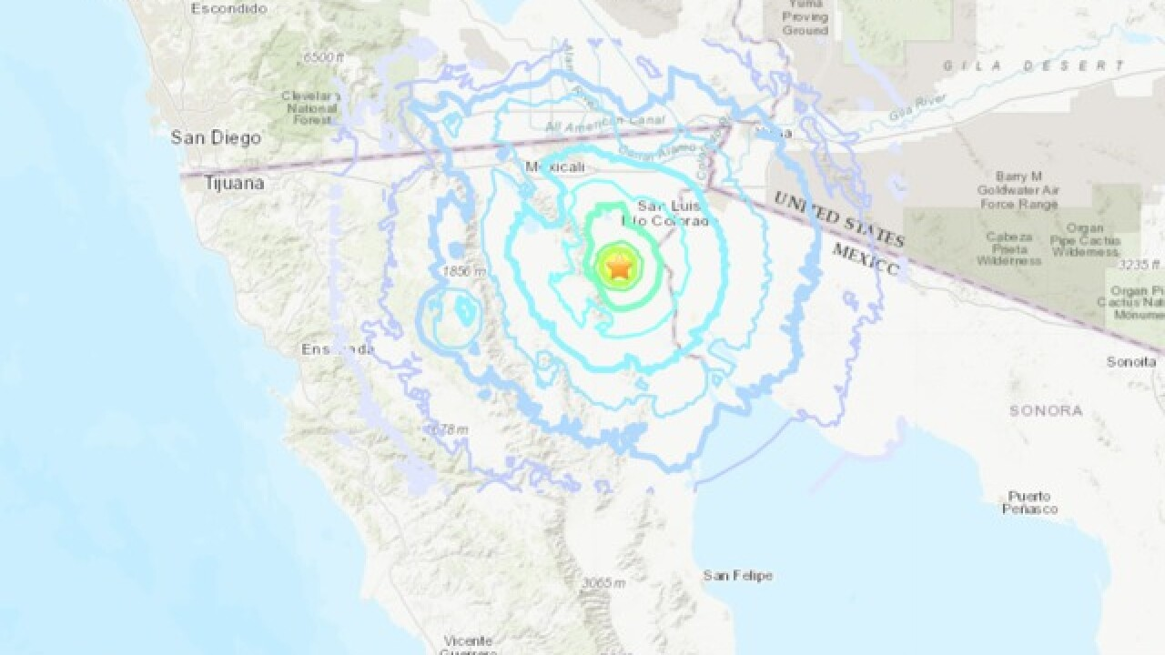 4.8 earthquake shakes northern Baja California, Mexico