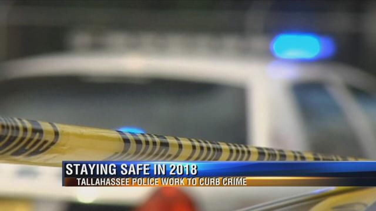 Tallahassee Police Department works to curb crime
