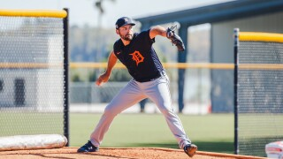 Michael Fulmer Tigers Spring Training