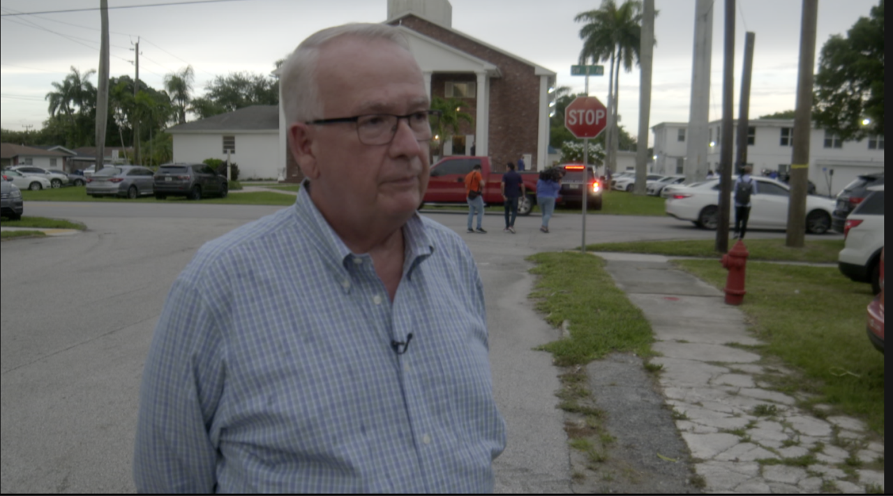 AJ Wasson, owner of H.G. Roosters in West Palm Beach, speaks about Wilton Manors tragedy