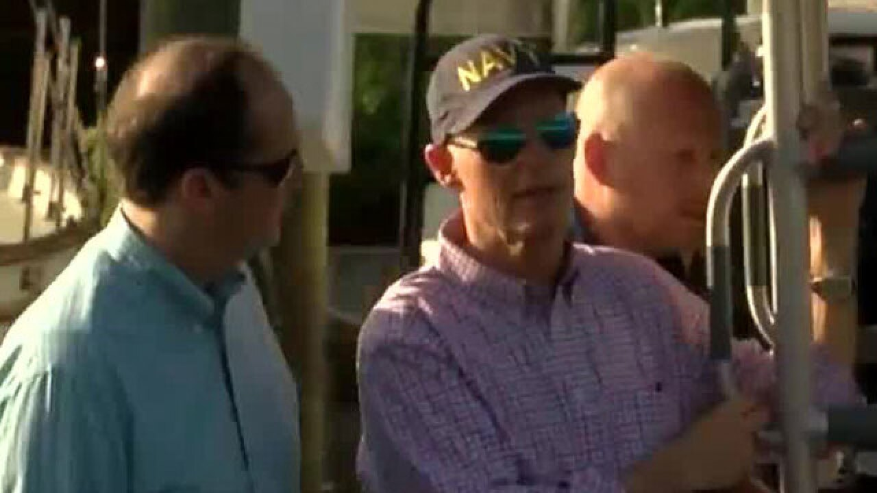 Gov. Rick Scott tours St. Lucie River as algae impacts Treasure Coast