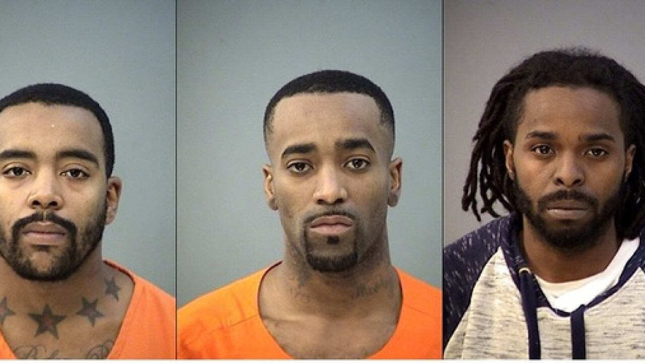 Three arrested in robbery spree around Indy